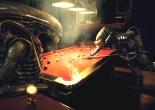 Aliens vs Predator playing pool