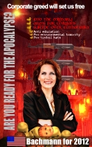 Bachmann promo poster