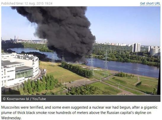 moskva fire