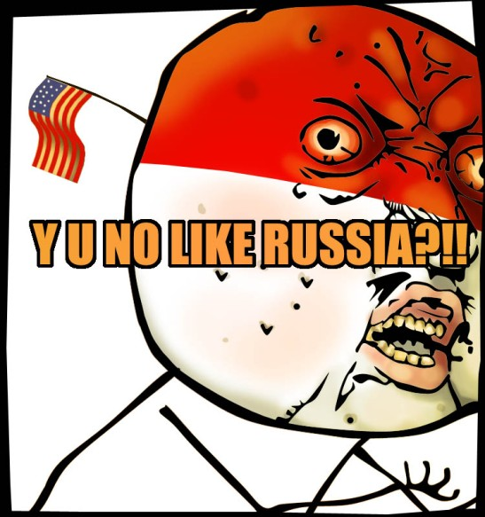 y u no like russia