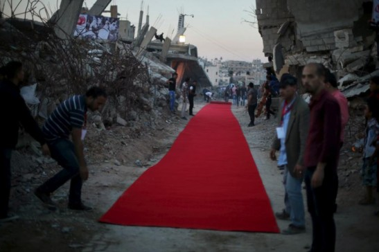 palestine red carpet before war film