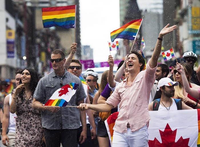 Aaaahahahaha wew Trudeau canada